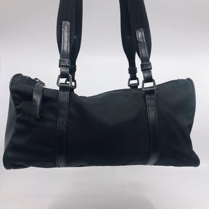 Ultra Sleek Prada Mini Duffle Bag!!!